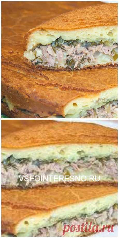 Если у вас мало времени, но вы хотите побаловать своих родных вкусной домашней выпечкой, то этот рецепт заливного пирога для вас! - VSEOINTERESNO.RU