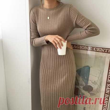 Простые формы: 10 модных платьев зимы для тех, кто ценит комфорт!   Леди Лайк   Яндекс Дзен