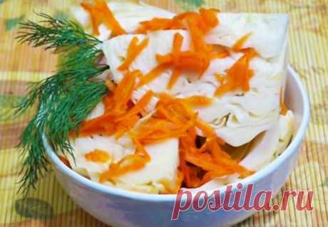 Закуска из капусты: пошаговый рецепт для приготовления дома