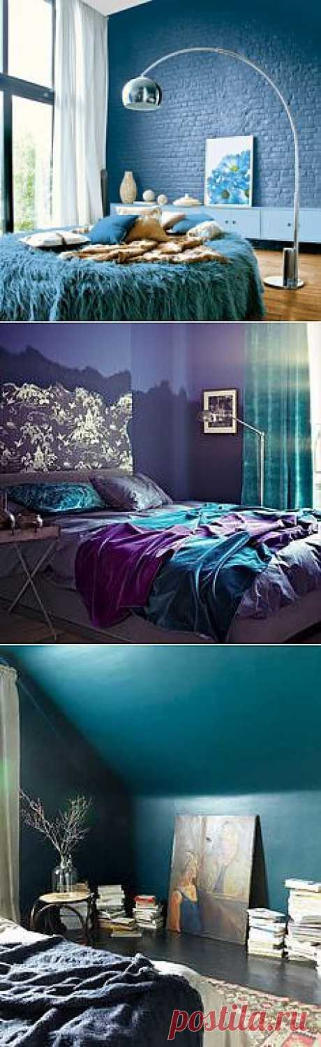 Синие спальни...