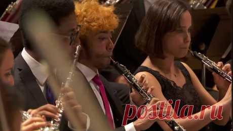 Зажигательное исполнение Tico-Tico no Fuba бразильским симфоническим оркестром Задорное выступление, которое непременно стоит посмотреть и послушать!