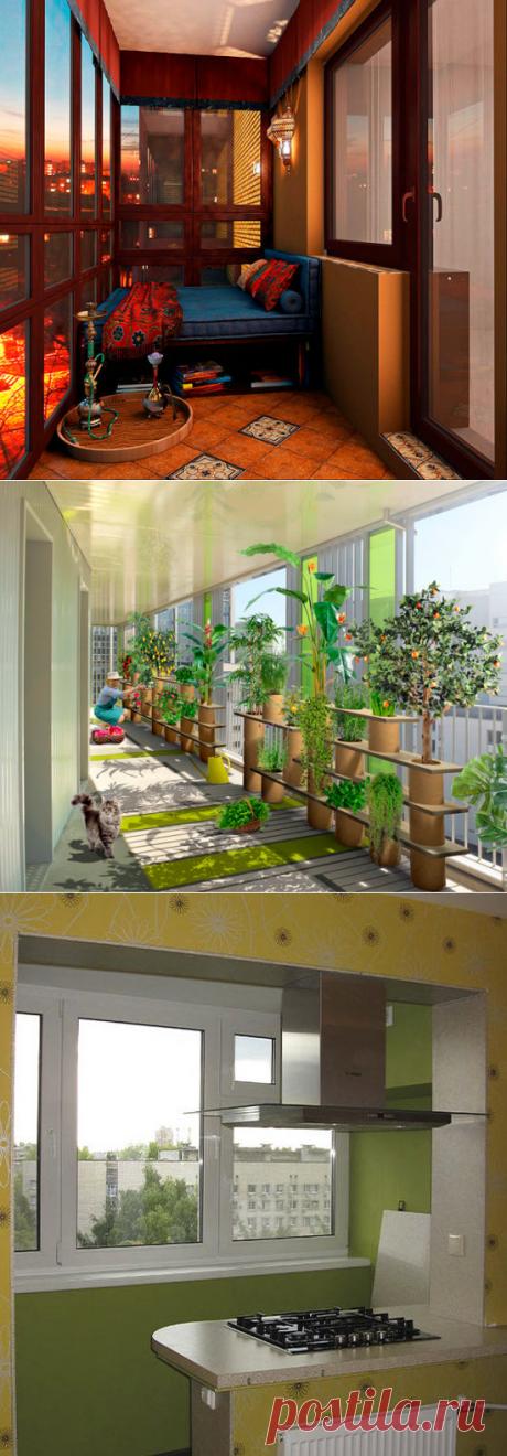 Есть ли жизнь на балконе?