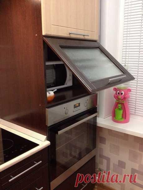 Небольшая кухня 6 кв.м