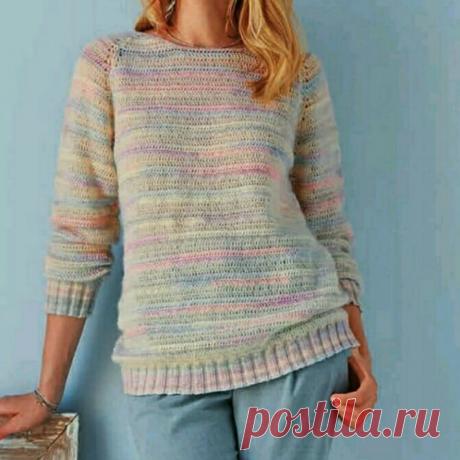 Очень красивые пуловеры со схемами и описанием. | Вязать легко и просто! | Яндекс Дзен