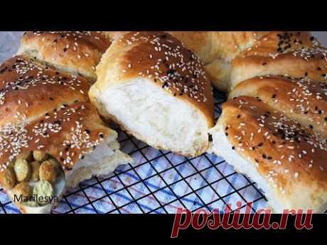 ПОГАЧА как пух нежный сдобный хлеб/Pogaca serbian bread