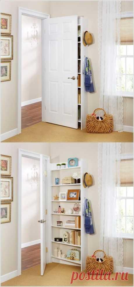 Шкаф за дверь Модная одежда и дизайн интерьера своими руками
