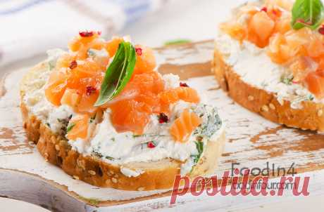 Быстрый завтрак. Вкусные бутерброды. | foodinfour