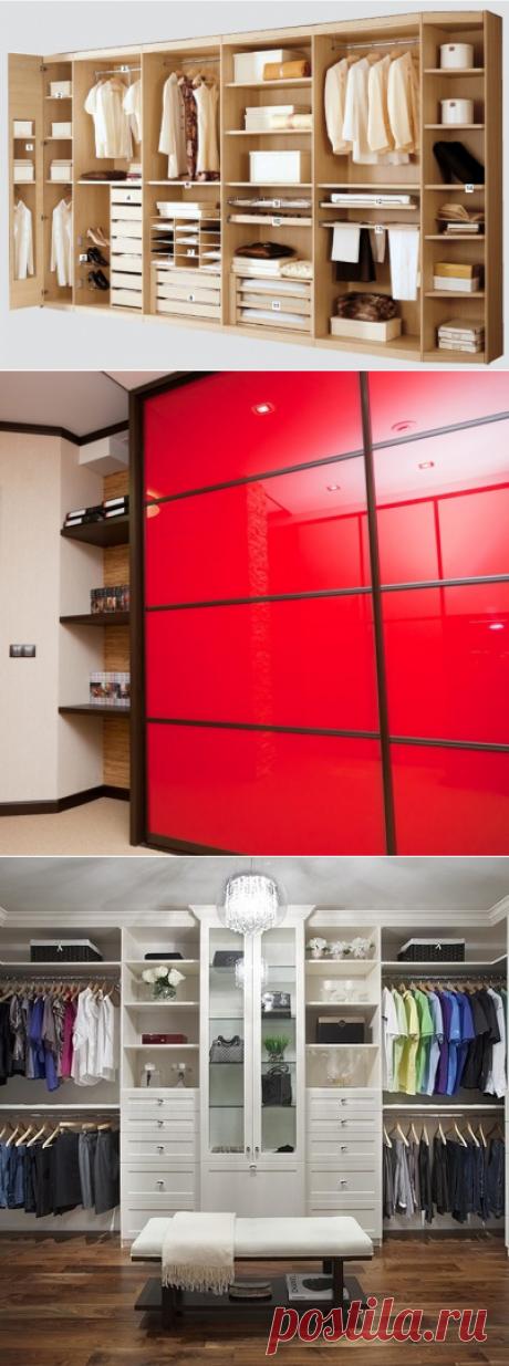 Особенности встроенных шкафов — Наши дома