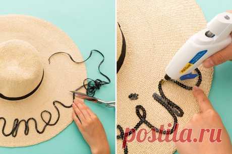 Украсить шляпу/оформить женские фетровые и летние соломенные шляпы цветами, фатином, лентой или бантом  украшения крючком https://frontend.vh.yandex.ru/player/10838102552641416832