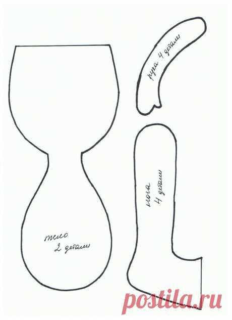 Шьём текстильную куколку Что нам понадобится: Швейная машина. Трикотаж для тела, флизелин, хлопок, трикотаж для одежды. Ботиночки для куклы, шапочка для куклы, трессы для волос. Нитки белые и бежевые, иголки. Наполнитель — си...