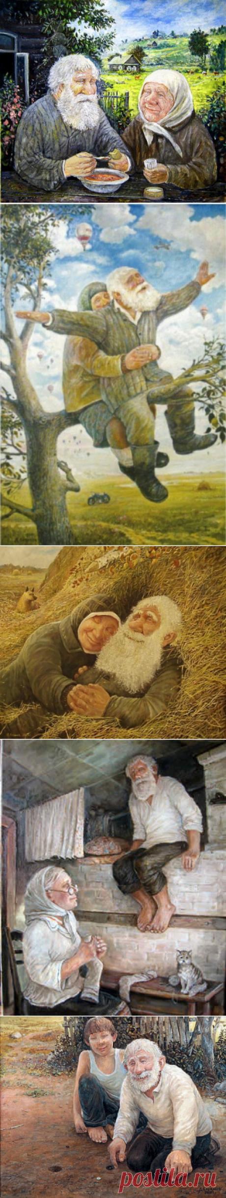 Дед да баба художника Леонида Баранова   Православие и мир