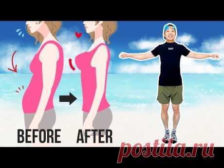 [30 сек] Поднимите грудь и уменьшите жирность бюстгальтера (даже если вы можете сделать это сидя)