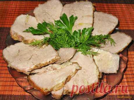Буженина в маринаде рецепт с фото