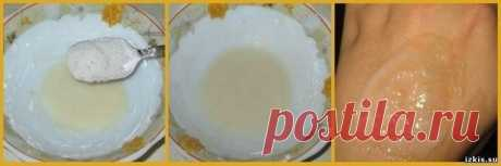 Китайская маска красоты из меда крахмала и соли, которая питает, выравнивает тон кожи