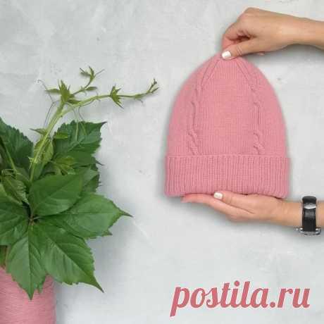 Стильная шапка от viktori_vikt