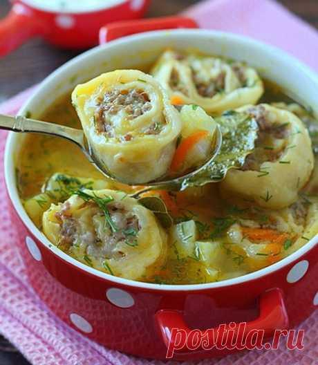 Суп картофельный с ленивыми пельменями Суп картофельный с ленивыми пельменями Пошаговые кулинарные рецепты с фотографиями –
