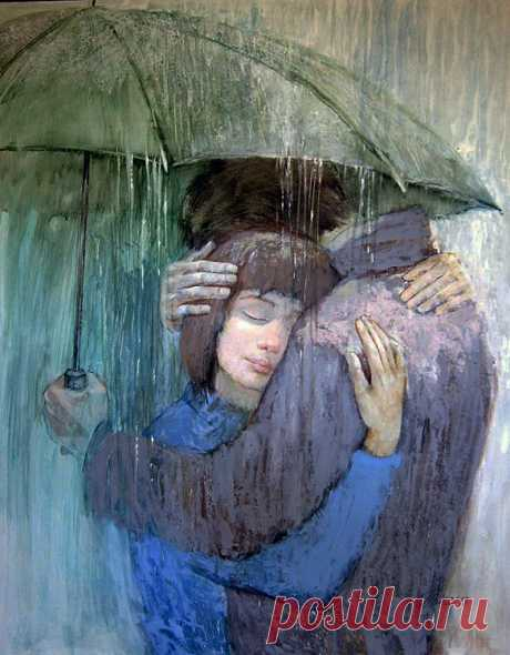 Человек, умеющий обнимать — хороший человек...