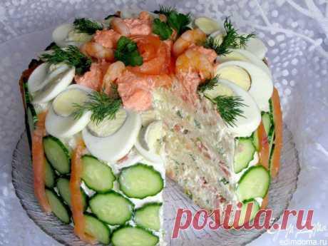Скандинавский закусочный торт (кухни народов мира) пользователя Стелла   Портал кулинарных рецептов «Едим дома!»