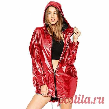 Новинка 2019 года; женские куртки; цвета металлик; куртка бомбер; женская верхняя одежда с капюшоном; весеннее пальто; Женская водонепроницаемая куртка на молнии; D366-in Базовые куртки from Женская одежда on Aliexpress.com | Alibaba Group