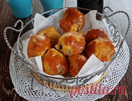 Маффины с куриными сердечками и луком — рецепт с фото пошагово. Сытный и вкусный завтрак или обед. Мягкие и нежные маффины с начинкой из лука, сыра и куриных сердечек.