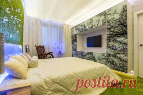 Кровать в интерьере фото #кровать #мебель #спальня #дизайнинтерьера