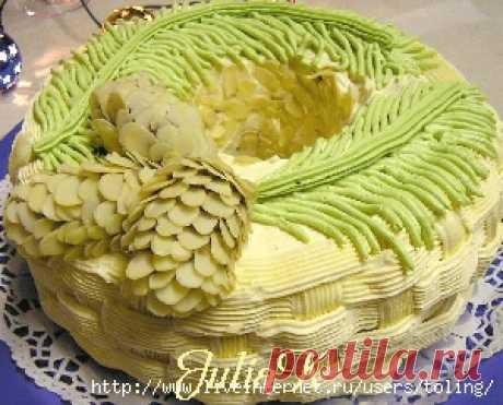 Украшение тортов и пироженых в домашних условиях.