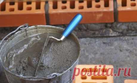 Как сделать крепкий раствор для кладки кирпича без добавок и ПВА, который не возьмет даже перфоратор
