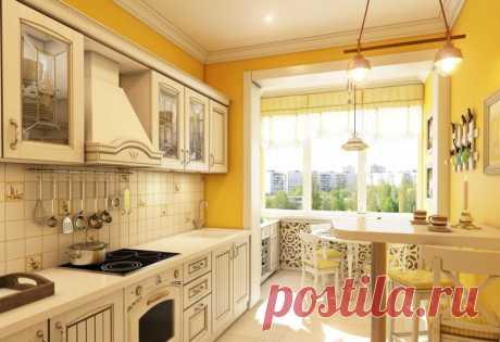 Кухня в коридоре: фото, планировка, оформление, преимущества