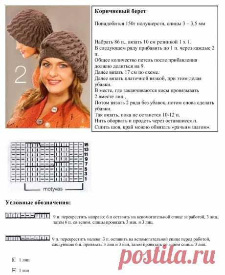 шапки вязанные спицами со схемами и описанием новые модели: 2 тыс изображений найдено в Яндекс.Картинках Просматривайте этот и другие пины на доске Вязание пользователя Ольга. Теги