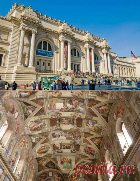 """12 музеев мирового уровня, которые можно """"посетить"""" в Интернете"""