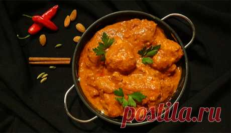 Масляная курица (Butter Chicken – Murgh Makhani)