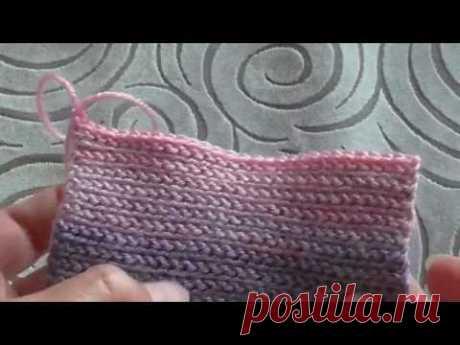 платочная вязка крючком СОЕДИНИТЕЛЬНЫЕ СТОЛБИКИ slip stitch crochet