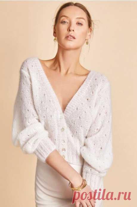Элегантность черного и белого в новых моделях Ким Харгривз | Вязание и творчество | Яндекс Дзен