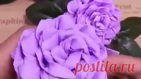 Цветы своими руками🌸Крутооо👍👍Интересно и познавательно🤟 Спасибо каналу Gorge