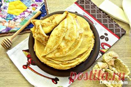 Нежные блинчики на молоке – пошаговый рецепт с фото | InfoEda.com