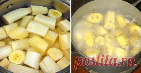 Напиток из бананов, который готов лопнуть от целебных минералов