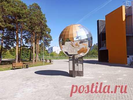Параметрический дизайн, зеркальный земной шар в Каменск-Уральске