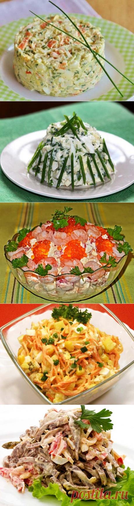 Салаты из кальмаров — 15 простых и очень вкусных рецептов