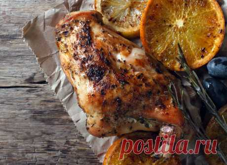 Как приготовить кролика: рецепт с оливками и апельсином на Пасху