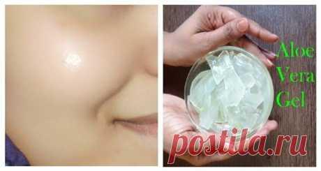 Гель алое вера для светящегося оттенка кожи - Полезные советы красоты