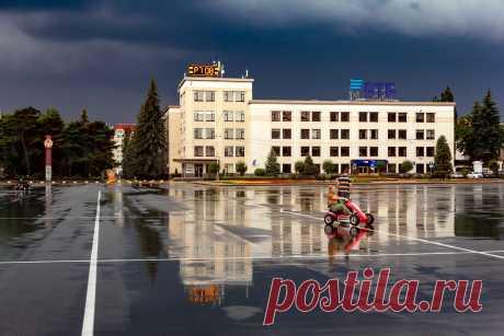 Ставрополь после дождя.