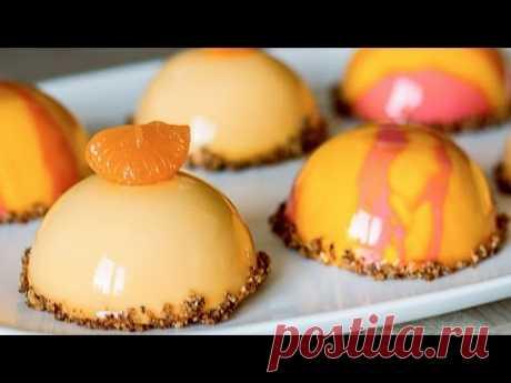 Муссовый апельсиновый торт / пирожные |  Mousse  Orange Cake