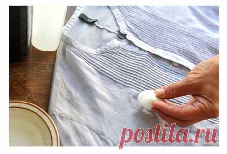 Как вывести застарелые масляные пятна с одежды. Три способа о которых мне рассказали сотрудники секонд-хенда   Модный Лещ   Яндекс Дзен