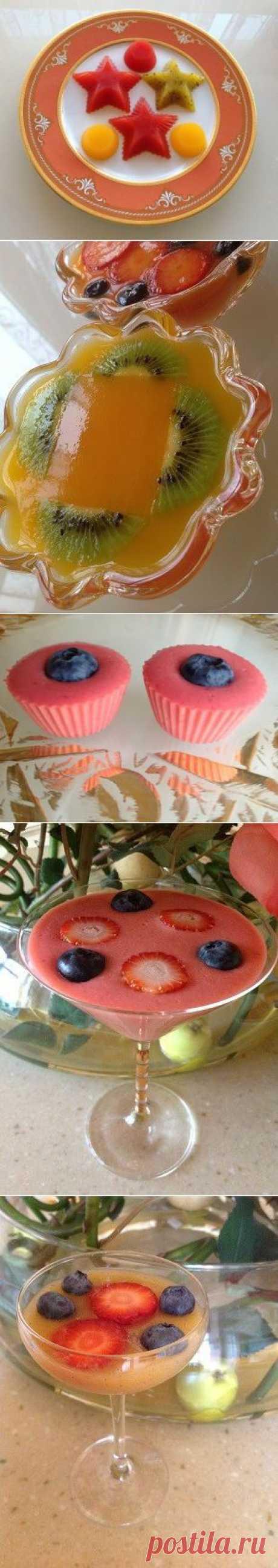 Домашний мармелад на агаре : Десерты