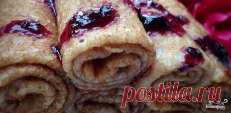 12 excellent recipes of scalded pancakes!