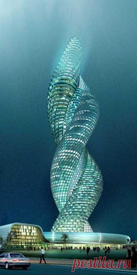 Башня-кобра, Кувейт.