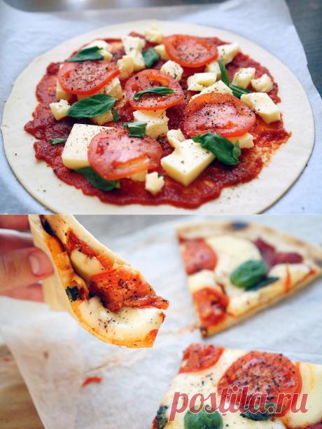 Пицца Маргарита | Andy Chef (Энди Шеф) — блог о еде и путешествиях, пошаговые рецепты, интернет-магазин для кондитеров |