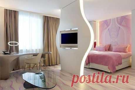 Способ зонирования комнаты