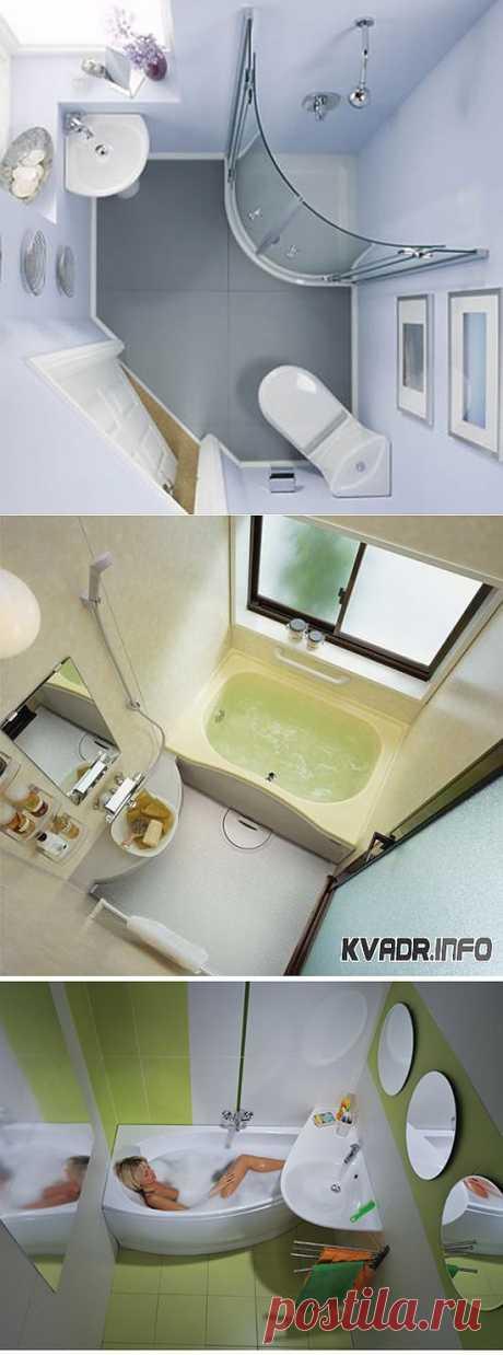 Дизайн маленькой ванной комнаты. Идеи | МОЙ ДОМ
