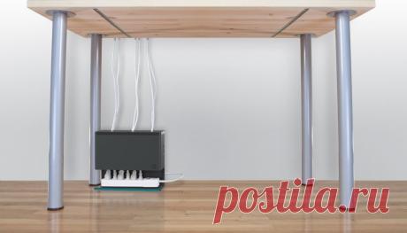 Как я прячу удлинители в своей квартире: легко и красиво | Игорь Волосков | Яндекс Дзен